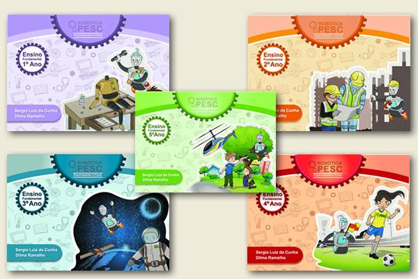 PESC material de ROBOTICA ano escola material didatico secretaria da educacao professsores